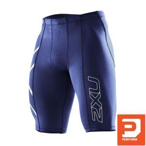 Kompressions Short Herren - 2XU - dunkel blau