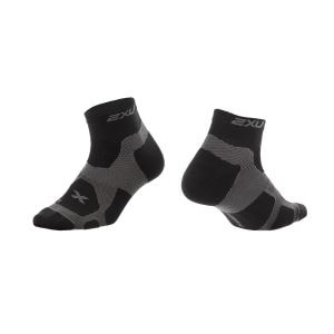 Training Vectr Sport Socken Herren - 2XU - schwarz/kohlegrau