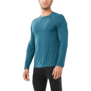 HEAT L/S Run Tee Herren - 2xu - mr5261