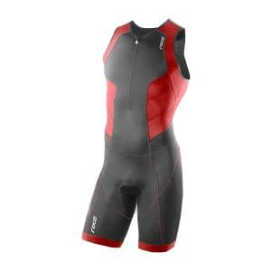 Perform Triathlon Einteiler Herren - 2XU - schwarz/scarlet