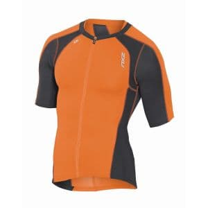 Compression Triathlon sleeved full zip Singlet Herren - 2XU
