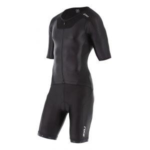 X-VENT Triathlon Full Front Zip Einteiler mit Arm Herren - 2XU