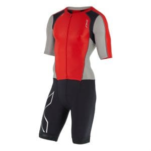 Compression Sleeved full Zip Trisuit Herren - 2XU