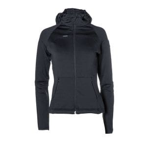 Loa Zip  Hoody Damen - endless local - schwarz/schwarz