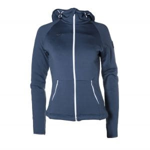 Loa Zip  Hoody Damen - endless local - navy/weiß