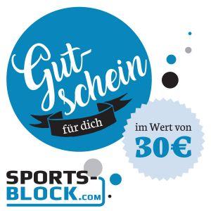 Gutschein 30 Euro von Sports-Block