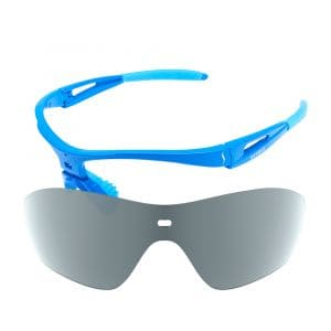 X-Kross Polarized - Sziols - Shiny Blue - Grau