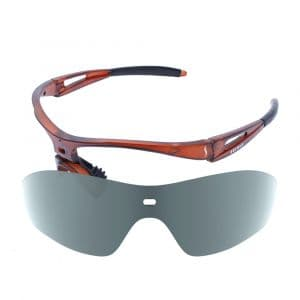 X-Kross Polarized small - Sziols - Maron Matt - Grau