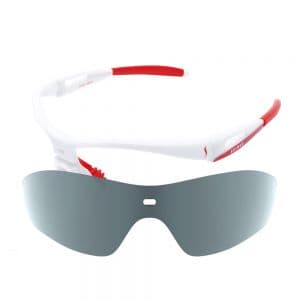 X-Kross Polarized small - Sziols - Weiss Rot - Grau