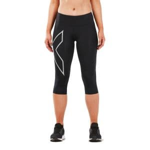 Run Mid Rise 3/4 Kompressionshose Damen - 2XU