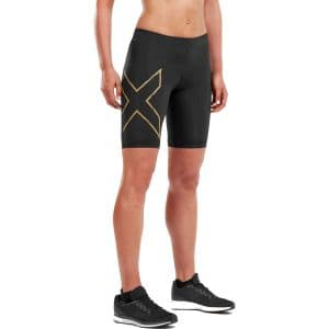 2xu MCS Run Kompressions-Shorts Damen - schwarz/gold