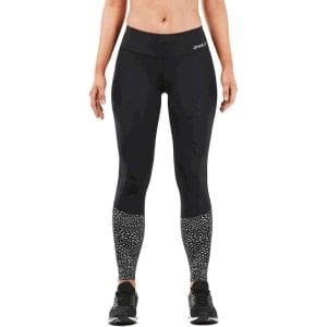 Reflect Run Mid Rise Compression Tight with Storage Damen - 2XU