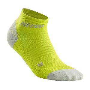 CEP Kompression low cut Socks 3.0 Herren - lime/hellgrau