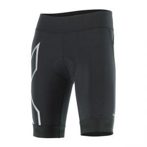 Compression Triathlon Short Damen - 2XU - schwarz/schwarz