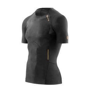 Compression A400 SS Top Herren - Skins - schwarz