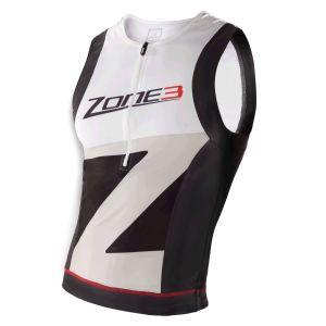 Lava Langdistanz Tri Top Herren - Zone3 - schwarz/weiß