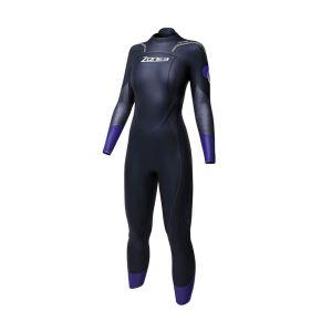 Aspire Neoprenanzug Damen - Zone3 - schwarz/violett
