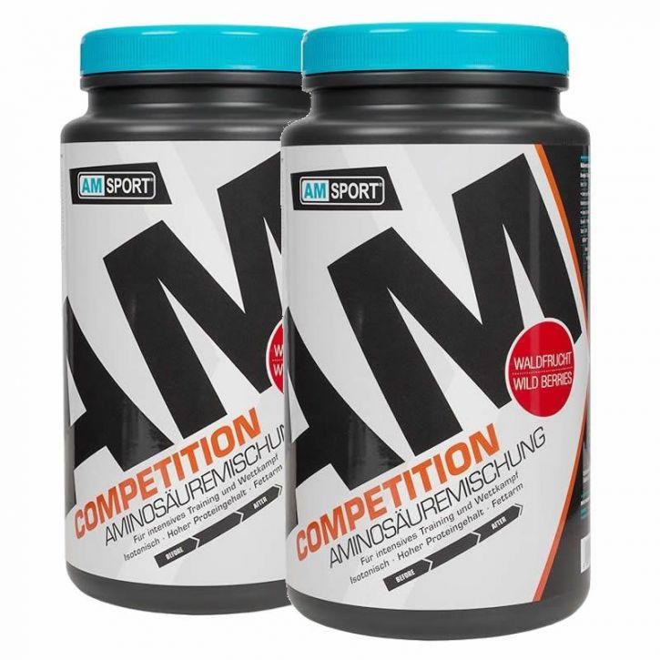Competition Aminosäuren/Kohlenhydrate - AMSport - Waldfrucht - 2x 1100g
