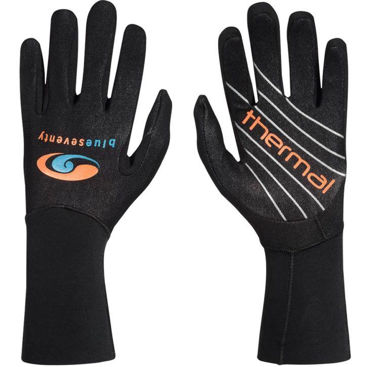 Blue70 Thermal Neopren Handschuhe unisex - schwarz/orange