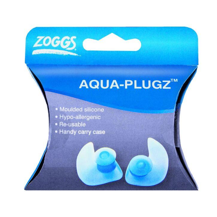 Silikon Ohrstöpsel Aqua Plugz - Zoggs - blau