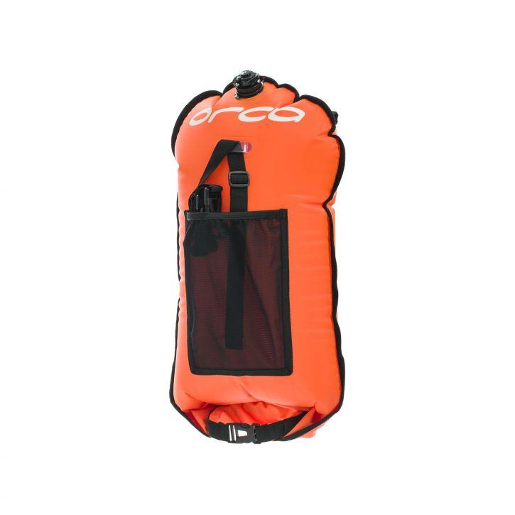 Swimrun Safety Bag - Orca - neon orange