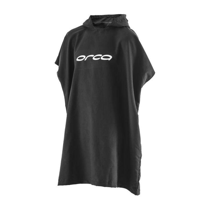Poncho Towel - Orca - schwarz