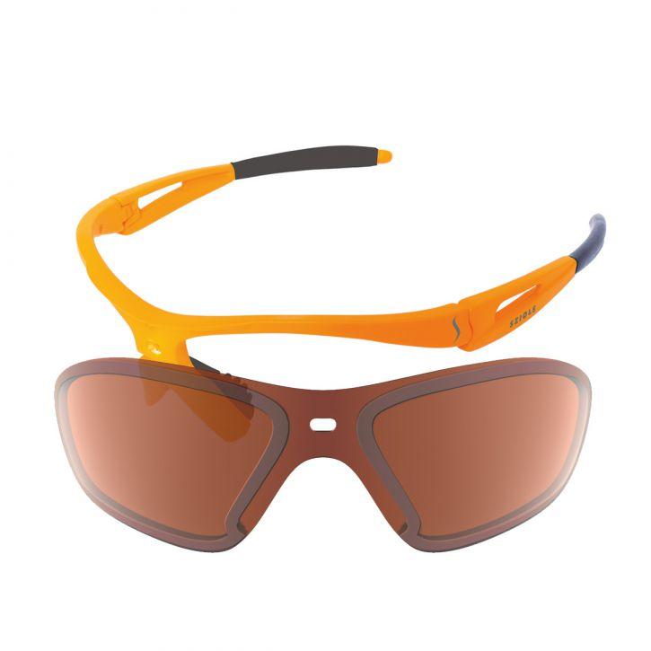 X-Kross Ski Alpin - Sziols - orange rubbertouch - msa49126