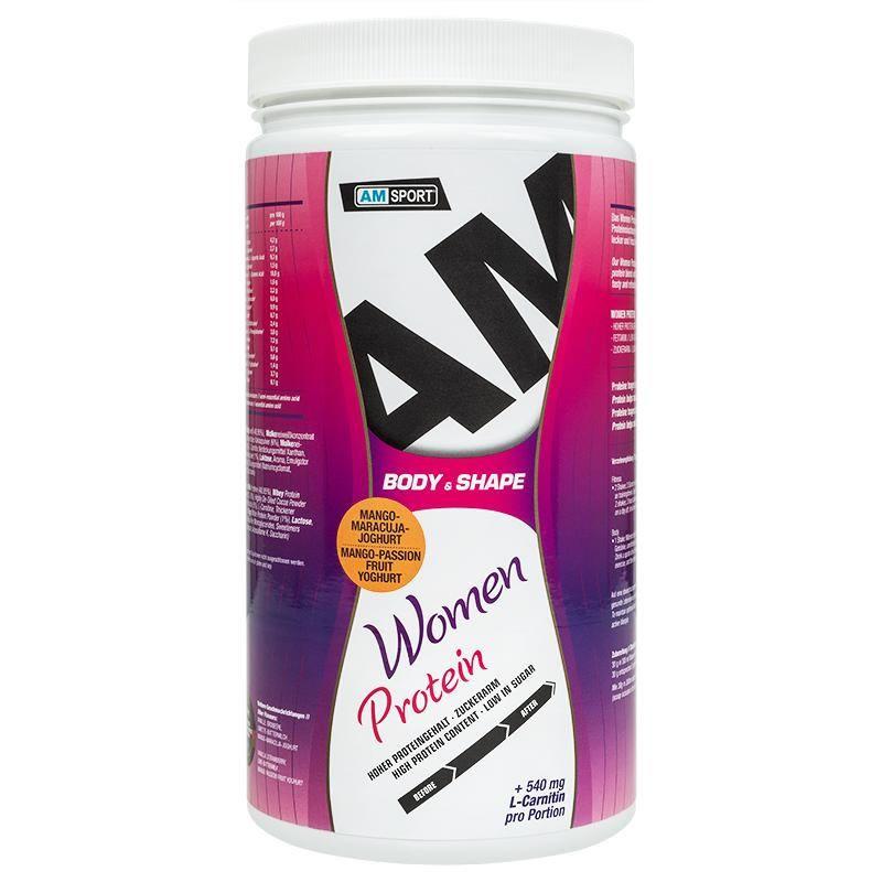 Women Protein Shake 600g- AMSport - Mango Maracuja