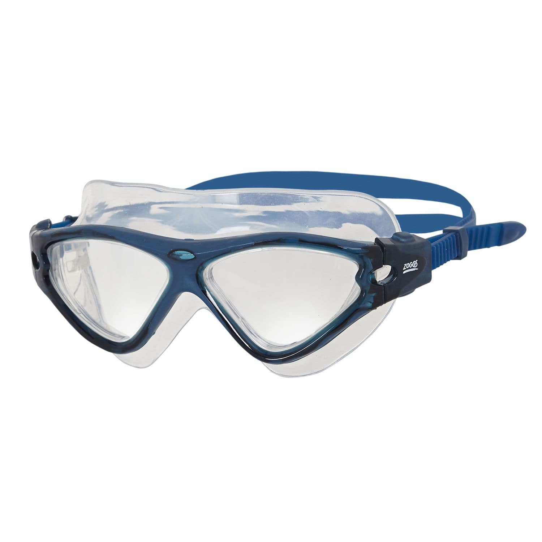Tri Vision Mask - Zoggs - blau/transparent