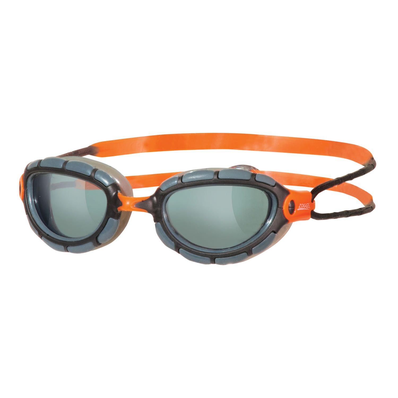 Predator Ultra-Fit wireframe unisex - Zoggs - rauch-orange/grau