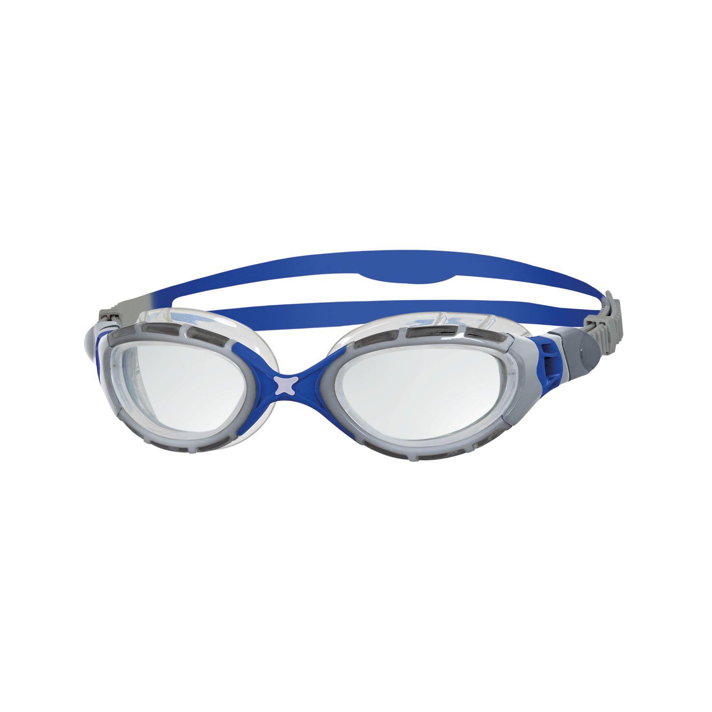 Predator Flex - Zoggs - silber/blau/klares glas
