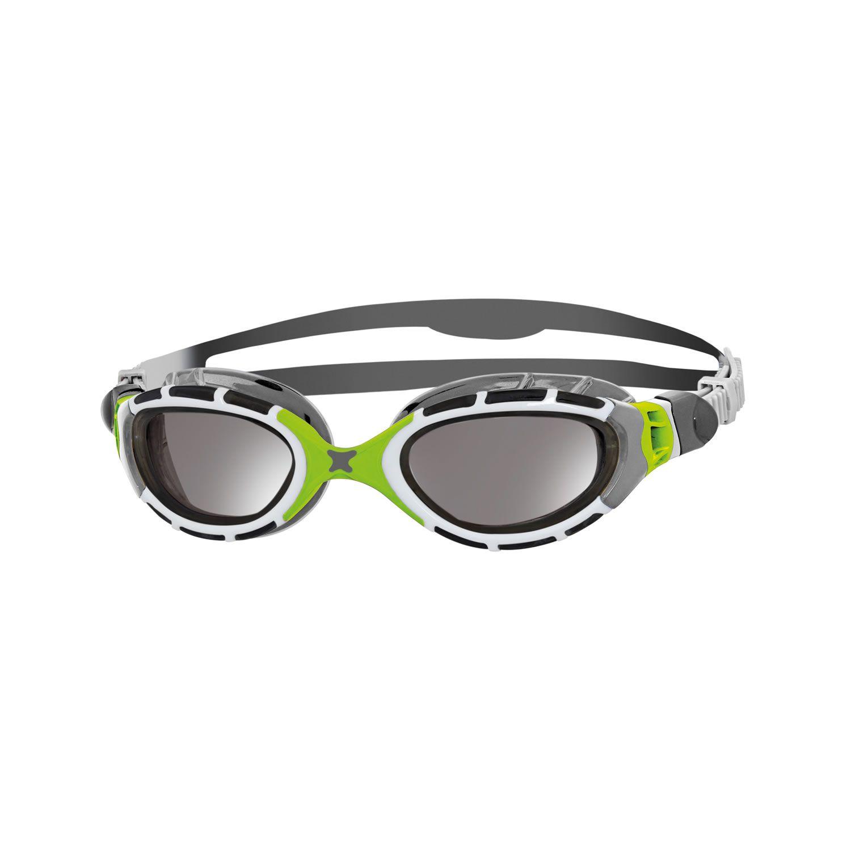 Predator Flex titanium - Zoggs - verspiegelt/grau/lime