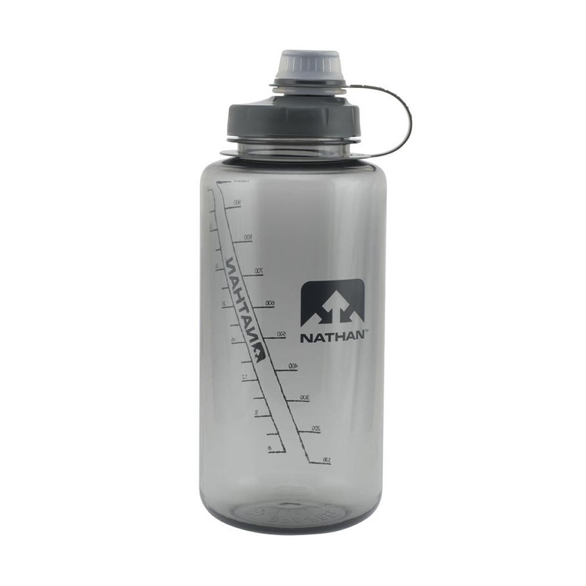Trinkflasche Big Shot 1 Ltr - Nathan - grau