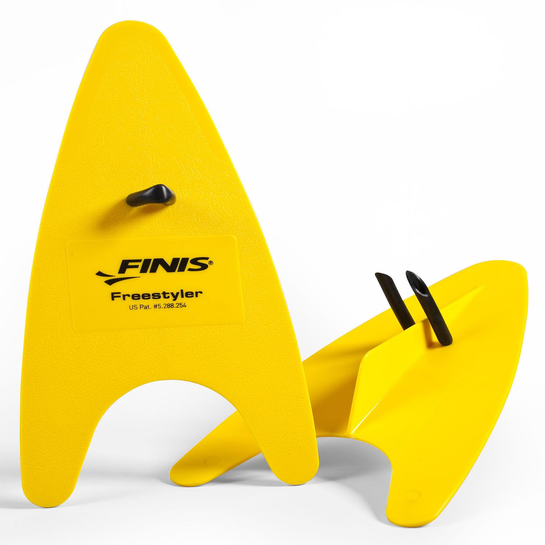 Freestyler Hand Paddles Erwachsene - FINIS - gelb