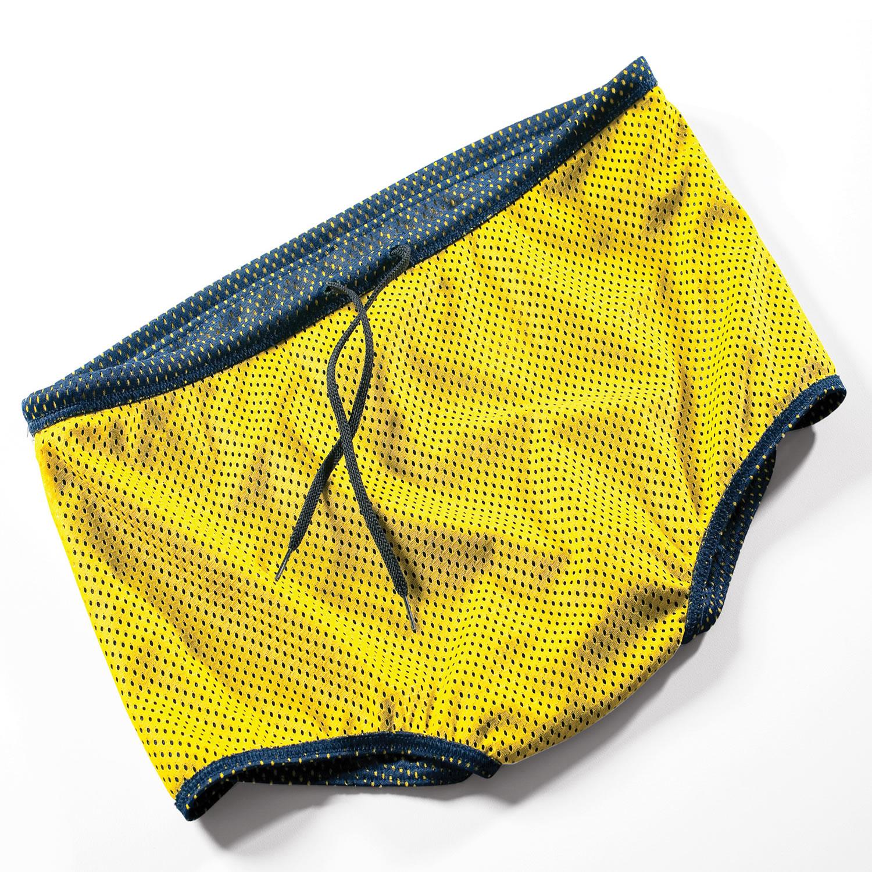 Widerstandshose - Unisex - FINIS - gelb/dunkelblau