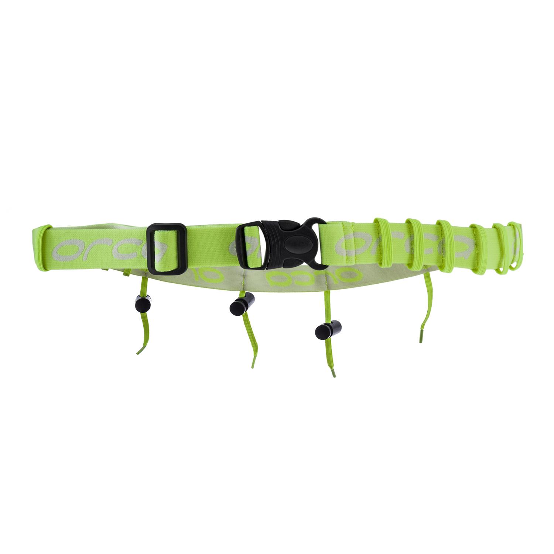 Startnummernband - Orca - neon gelb