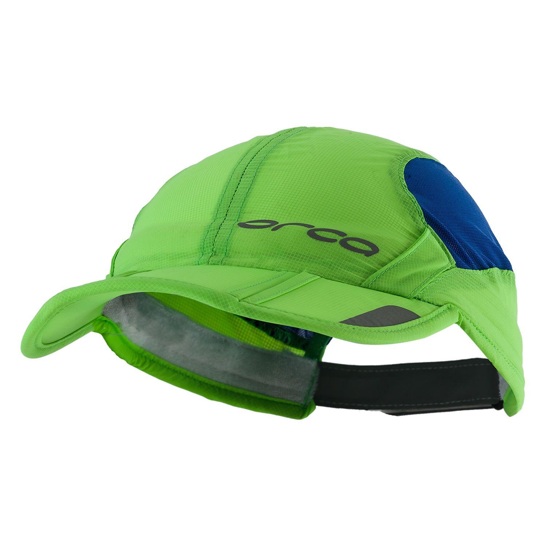 faltbare Cap unisex - orca - grün/blau