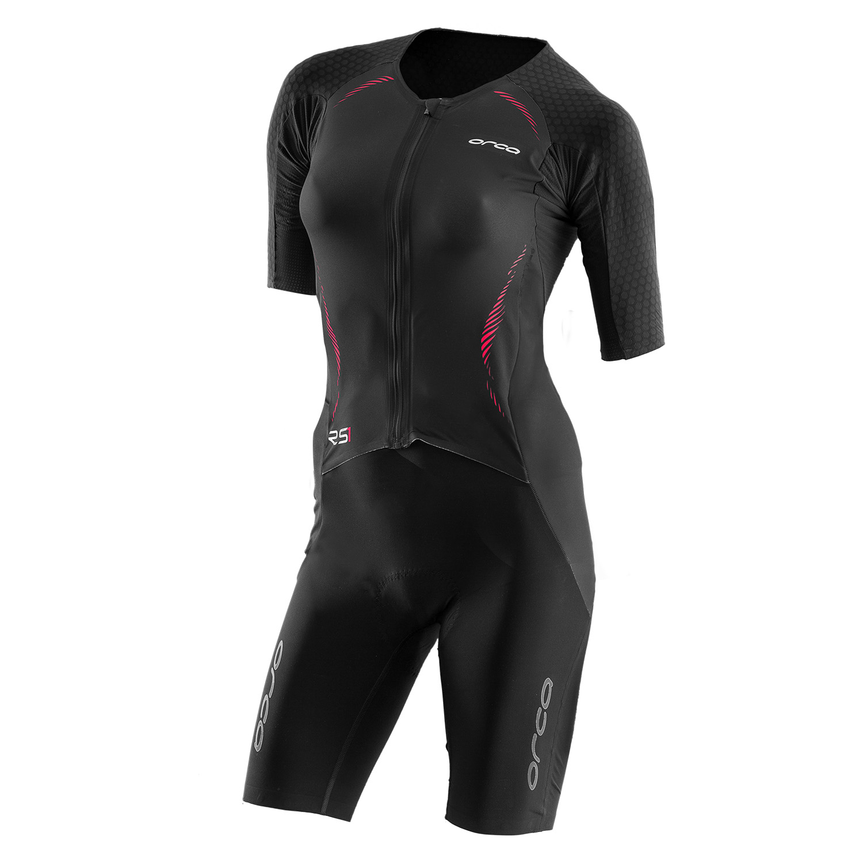 RS1 Dream Kona Race Suit Damen - Orca - schwarz/rot