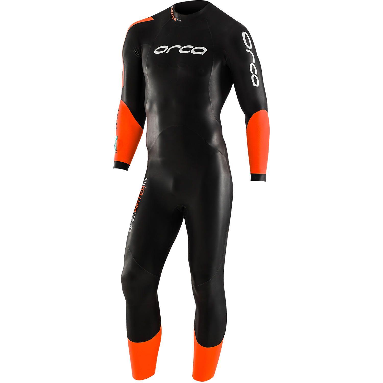 Orca Openwater SW Neoprenanzug Herren - schwarz/orange