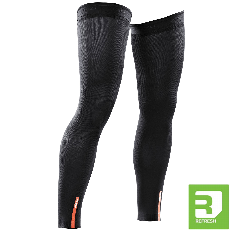 Kompressions Recovery Leg Sleeves - 2XU - schwarz