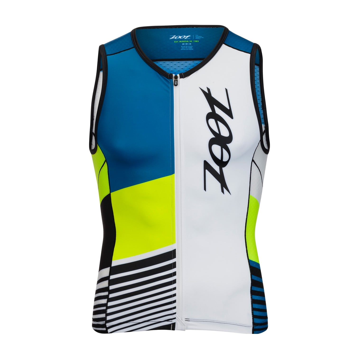 LTD Tri Full Zip Tank Herren - Zoot - Z1806011
