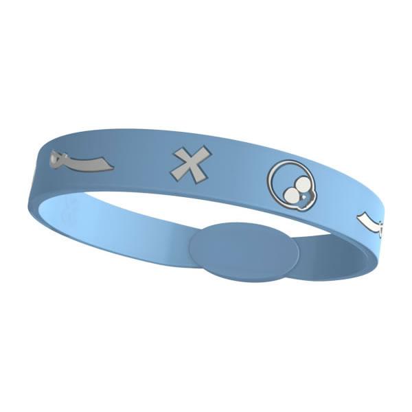 Silikon Armband Kinder - Easy Balance - light blue