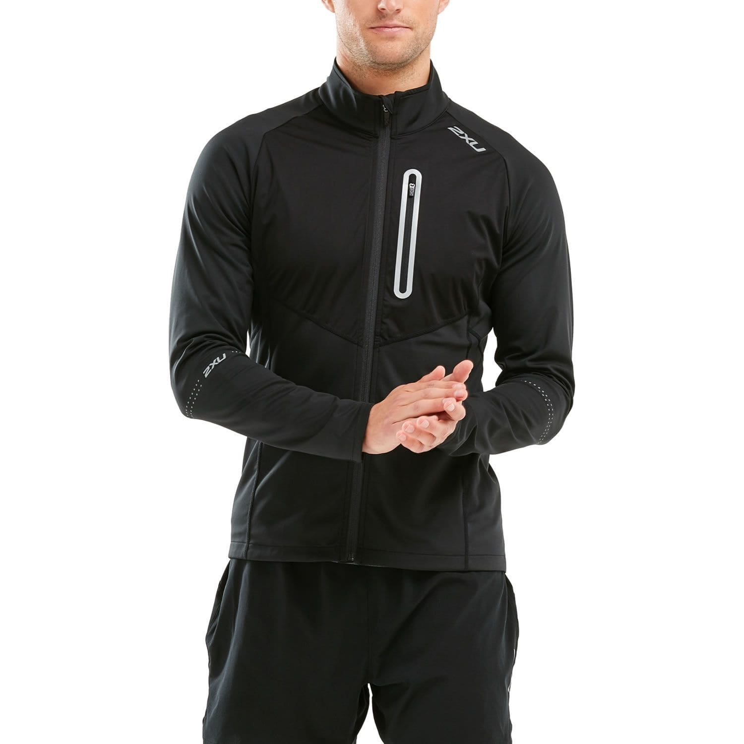 Pursuit Thermal Hybrid Jacke Herren - 2xu - schwarz