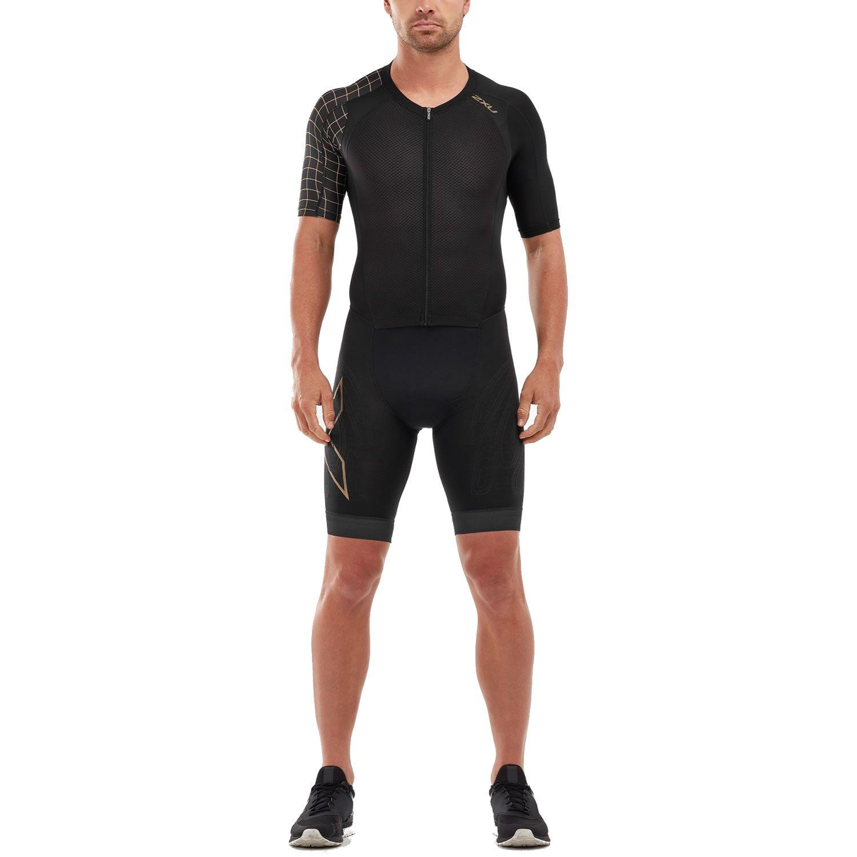 2XU Compression Sleeved full Zip Trisuit Herren
