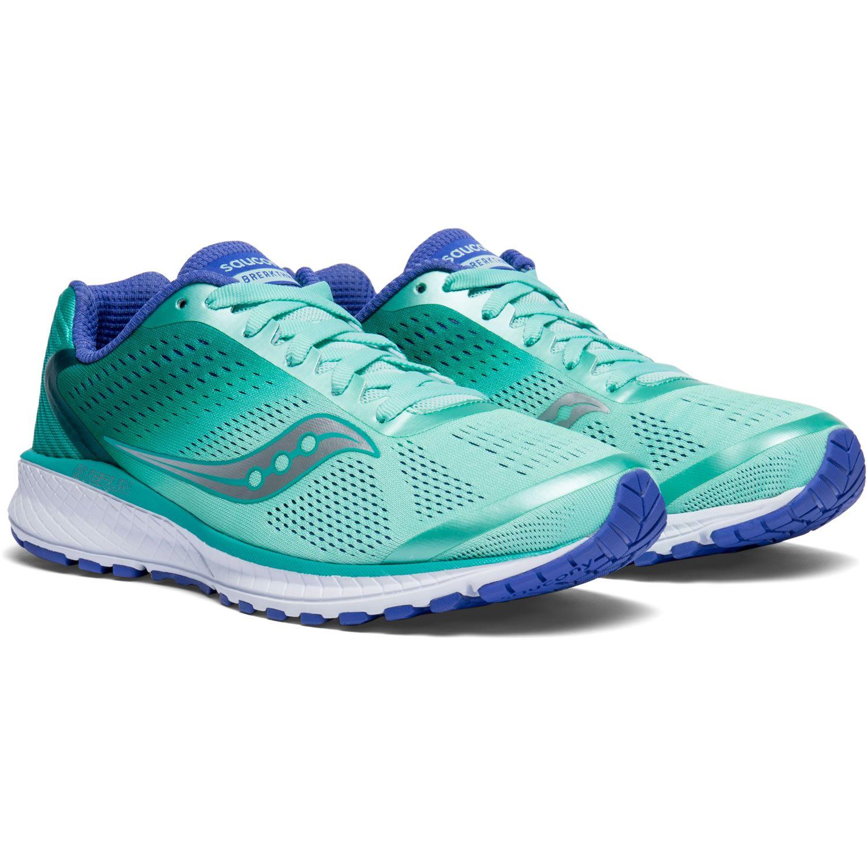 9228daf9 Breathtru 4 Run Shoe Women - Saucony - aqua/violett