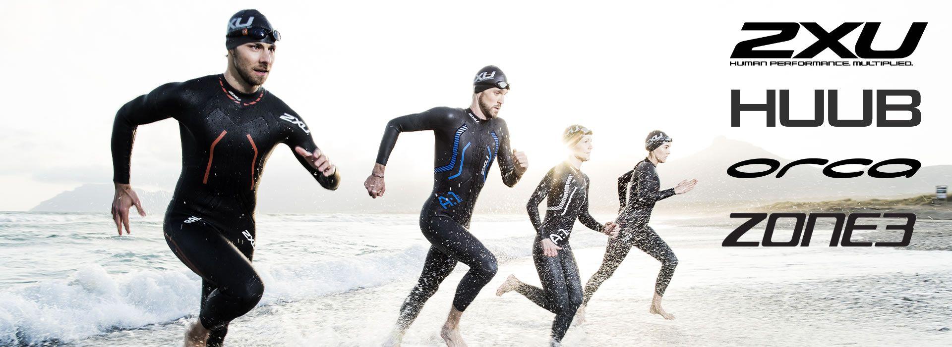 Triathlon Neoprenanzüge im Sports-Block