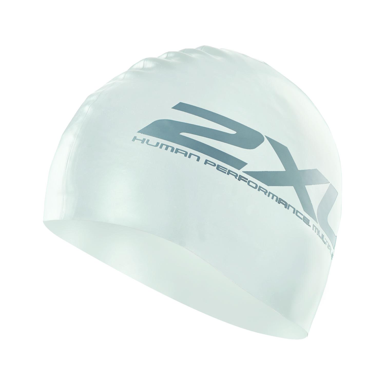 Latex Schwimmkappe - 2XU - weiß